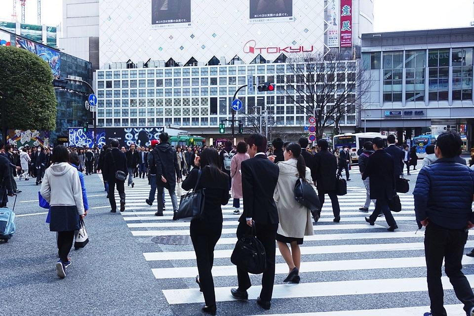 【那你呢あなたはロケ地】渋谷駅前スクランブル交差点
