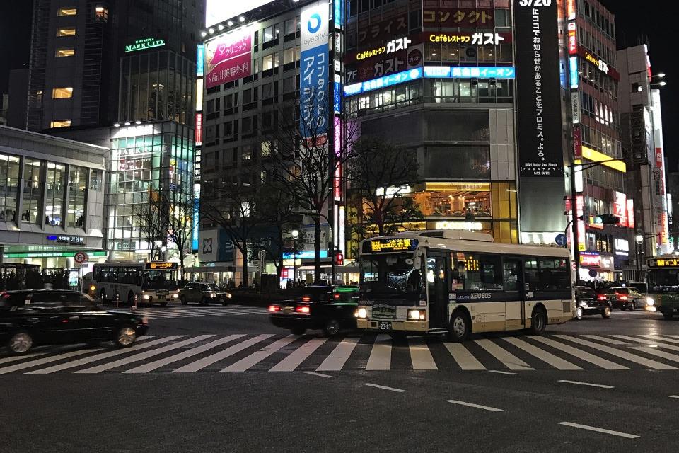 【那你呢あなたはロケ地夜の渋谷交差点