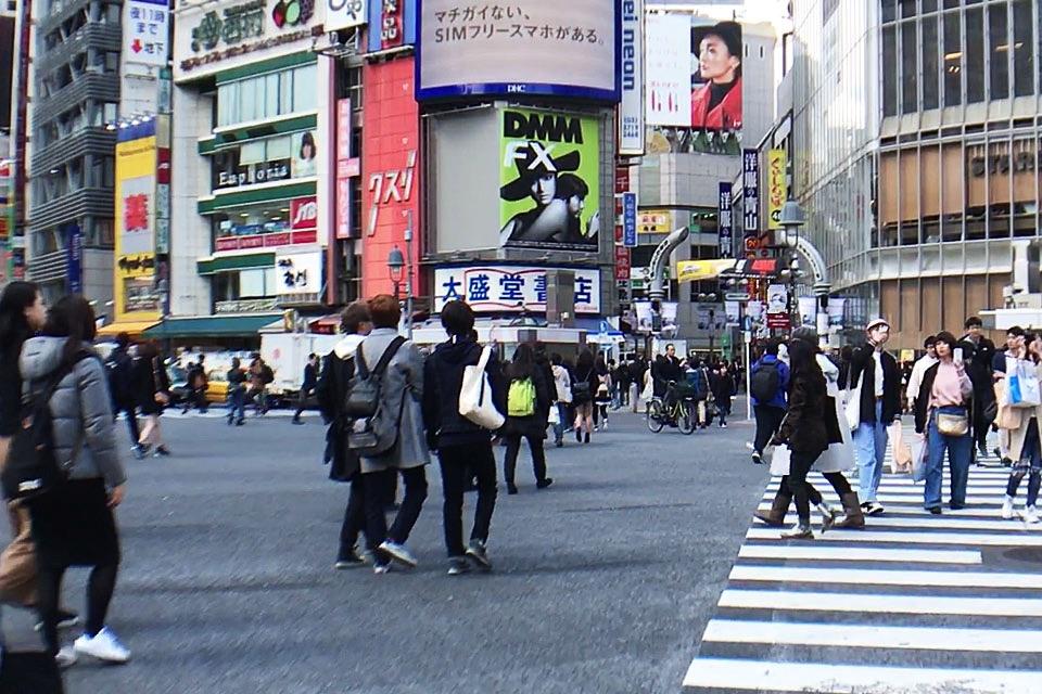 【那你呢あなたはロケ地】渋谷駅前