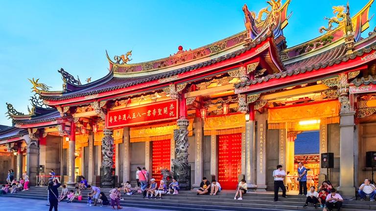 行天宮(Xingtian Temple)【しんてんぐう】