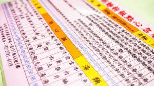 台湾華語は香港と同じ「繁體字(繁体字)」。中国本土の「簡体字」とは違う