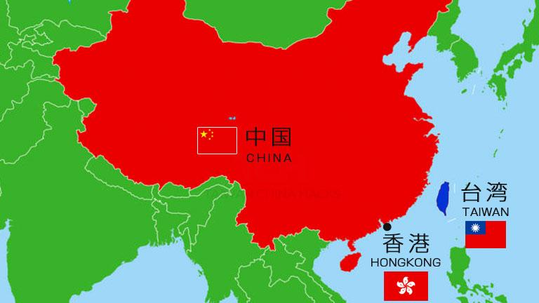 中国・台湾・香港の場所!それぞれどこに位置する?