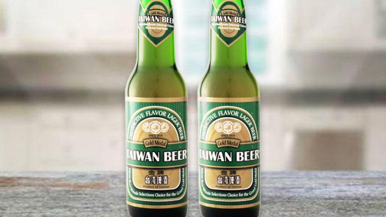 台湾ビール2.瓶タイプの「金牌」