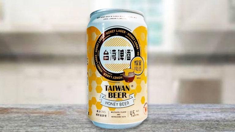 台湾ビール9.缶タイプの「蜂蜜ビール」