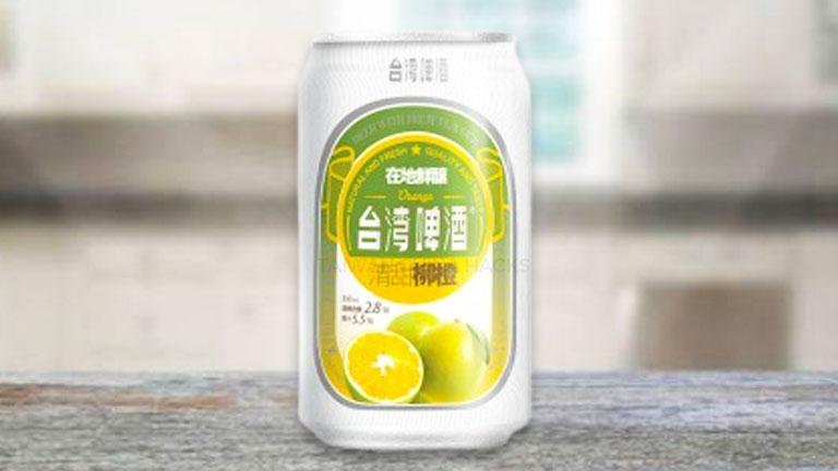 台湾ビール15.缶タイプの「レモンビール」台湾ビール15.缶タイプの「レモンビール」