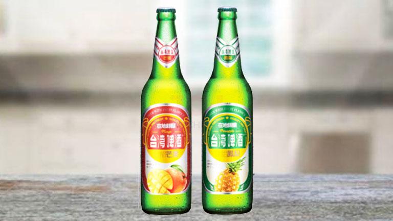 台湾ビール12.瓶タイプの「フルーツビール各種」