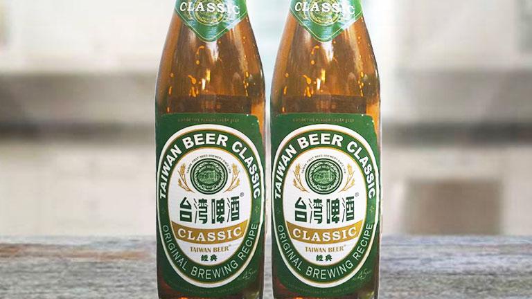 台湾ビール4.瓶タイプのクラシック「經典」